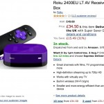 Amazon have reduced Roku to £35