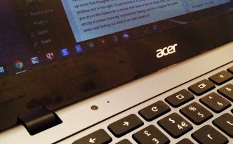 Acer C720 Chromebook First Thoughts
