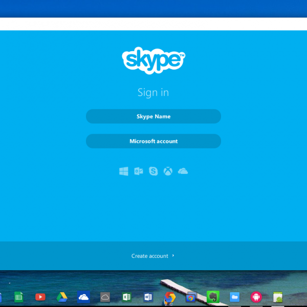 Install Skype on a Chromebook