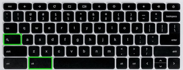 Chromebook Keyboard Shortcuts Alt and Search