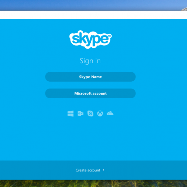 Skype on a Chromebook